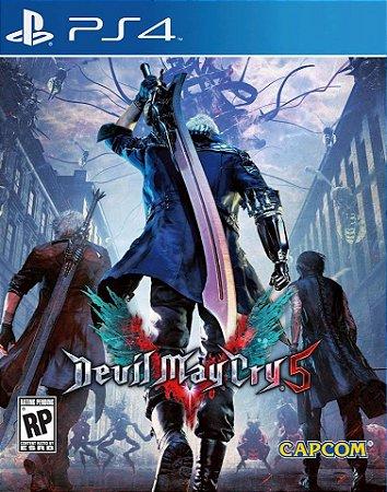 Devil May Cry 5 PS4 PSN Mídia Digital