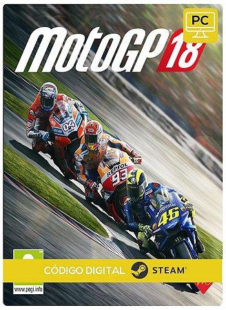 MotoGP 18 Steam Pc Steam Código De Resgate Digital