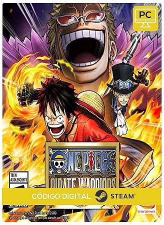One Piece Pirate Warriors 3  Steam Pc Código De Resgate Digital