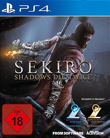 Sekiro Shadows Die Twice PS4 PSN Mídia Digital