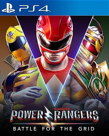 Power Rangers: Battle For The Grid PS4 PSN Mídia Digital
