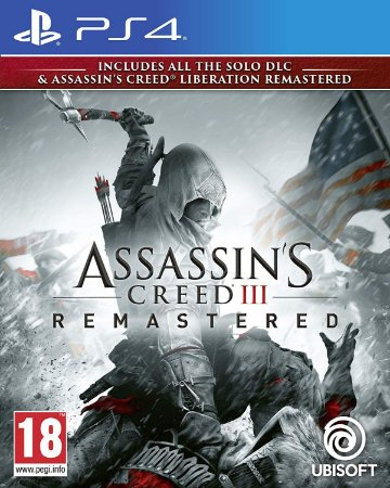 Assassin's Creed III: Remastered PS4 PSN Mídia Digital