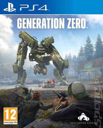 Generation Zero  PS4 PSN Mídia Digital