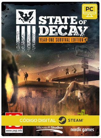 State of Decay: Year One Survival  Steam Pc Código De Resgate Digital
