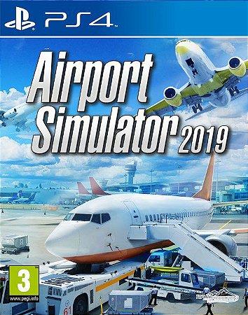 Airport Simulator 2019 PS4 PSN Mídia Digital