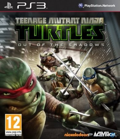 Tartarugas Ninjas Teenage Mutant Ninja Turtles Out of the Shadows PS3 PSN MÍDIA DIGITAL