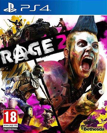 RAGE 2 PS4 PSN Mídia Digital