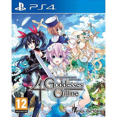 Cyberdimension Neptunia: 4 Goddesses Online PS4 PSN Mídia Digital