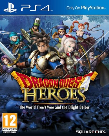 DRAGON QUEST HEROES: The World Tree's Woe and the Blight Below PS4 PSN Mídia Digital