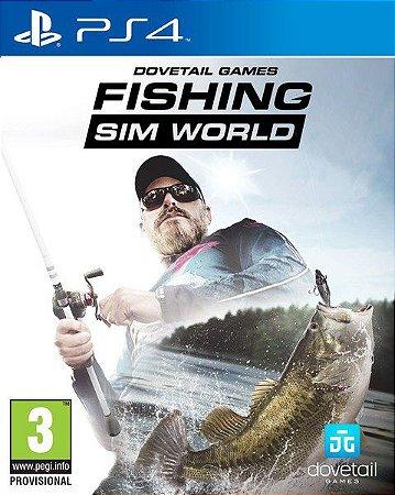 Fishing Sim World  PS4 PSN Mídia Digital