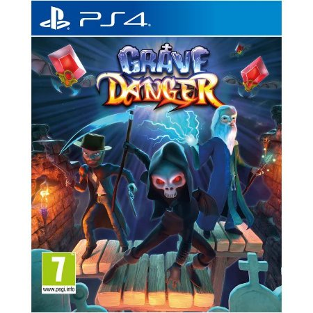 Grave Danger PS4 PSN Mídia Digital