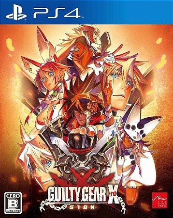 Guilty Gear Xrd -SIGN-  PS4 PSN Mídia Digital