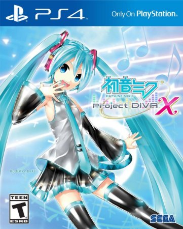 Hatsune Miku: Project DIVA X PS4 PSN Mídia Digital