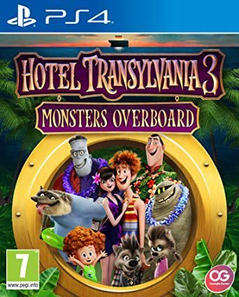 Hotel Transylvania 3 Monsters Overboard  PS4 PSN Mídia Digital