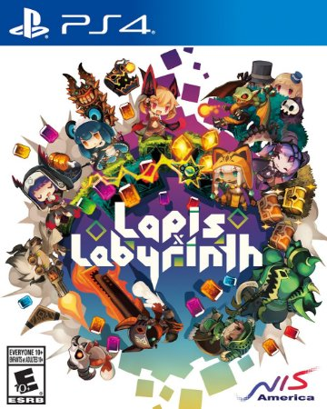 Lapis x Labyrinth PS4  PSN Mídia Digital