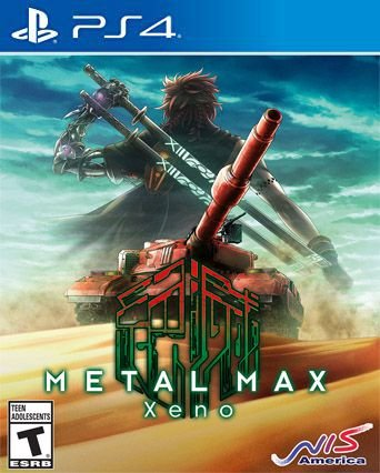 METAL MAX Xeno PS4  PSN Mídia Digital