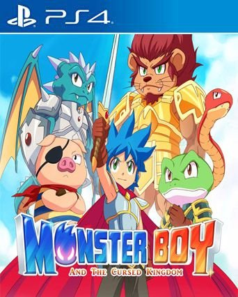 Monster Boy and the Cursed Kingdom PS4  PSN Mídia Digital