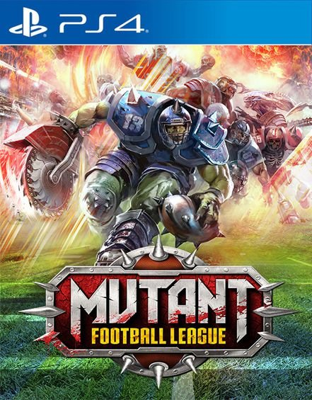 Mutant Football League   PS4  PSN Mídia Digital