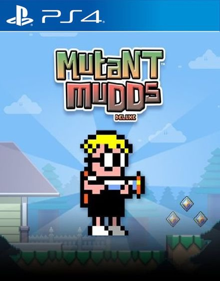 Mutant Mudds Deluxe PS4  PSN Mídia Digital