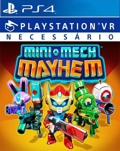 Mini-Mech Mayhem VR PS4 PSN Mídia Digital
