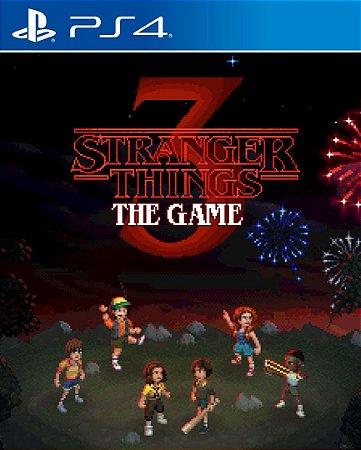 Stranger Things 3 O Jogo PS4 PSN Mídia Digital