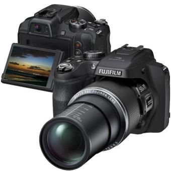 "Câmera Fotografica FujiFilm Finepix SL1000 Preta 16MP, LCD 3.0"" Variável, Zoom 50x, Videos Full HD, Fotos 3D e Panorâmicas"