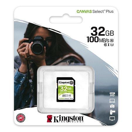 Cartão Memoria Para Câmeras Fotográficas E Filmadoras Sd 32GB