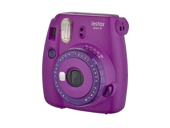 Câmera Fujifilm Instax Mini 9 - Foto Instantânea - Roxo