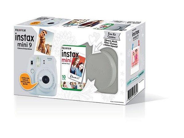 Kit Câmera Instax Mini 9 Branco