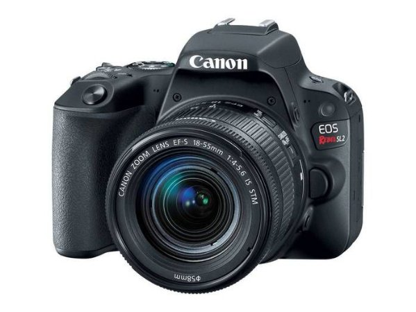 Câmera Fotografica Canon Digital Profissional Rebel Sl2