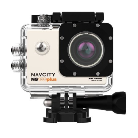 Câmera Esportiva Navcity NG-100 Plus 4K +Case à Prova d'água 30m