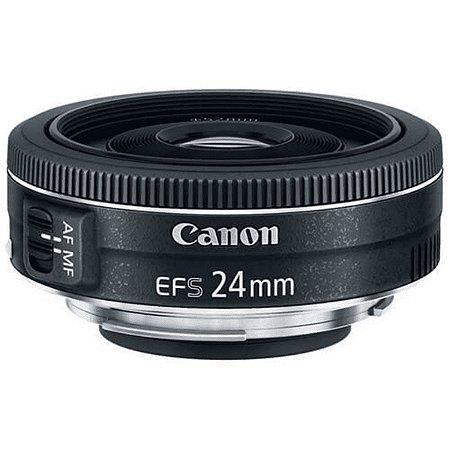 Lente Canon Ef-s 24mm F/2.8 Stm Grande Angular
