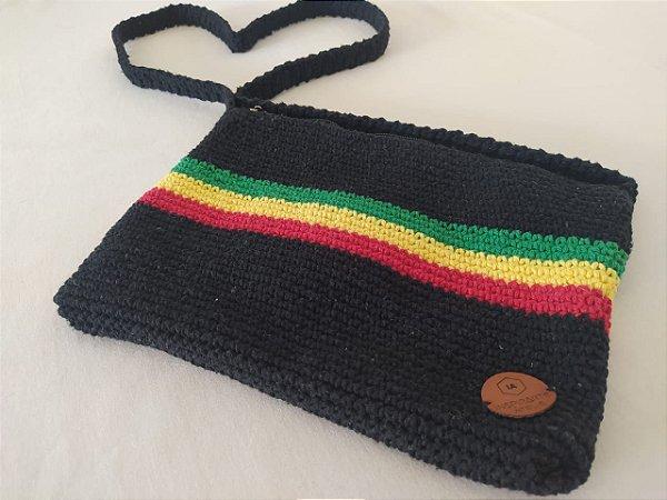 Bolsa Reggae de Crochê