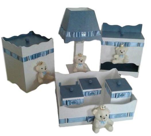 Kit Higiene Bebê - Ursinhos