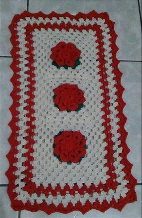 Tapete de Crochê, Flores