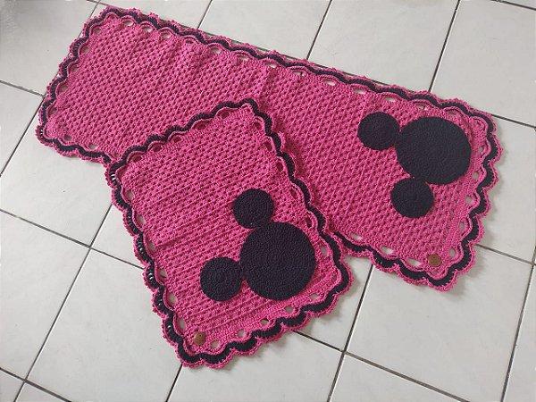 Tapetes de Crochê, Jogo Mickey
