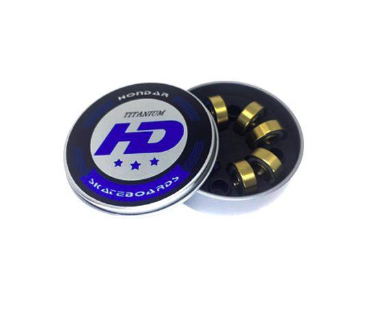 Rolamentos Hondar Titanium Blue - Kit 8 unidades