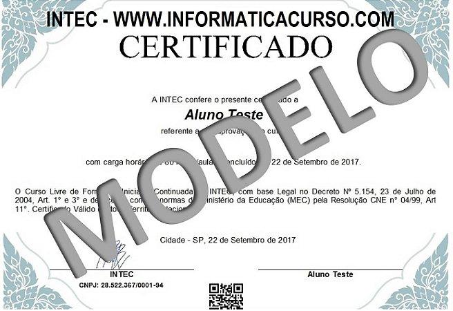 Certificado Rápido IMPRESSO