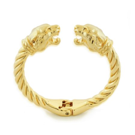 Pulseira Bracelete Tigre Di Capri Semi Jóias X Ouro