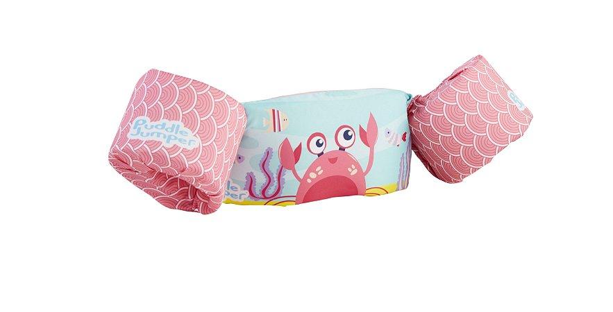 Colete Flutuante Infantil - Pink Crab