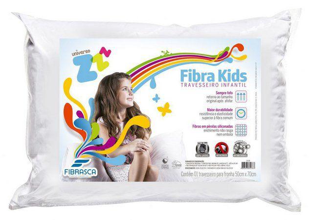 Travesseiro Fibra Kids -  Fibrasca