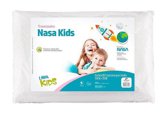 Travesseiro Visco Nasa Kids - Fibrasca