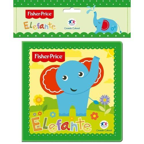 Livro de Banho Elefante - Fisher Price