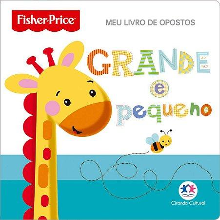 Livro de Banho Opostos - Fisher Price