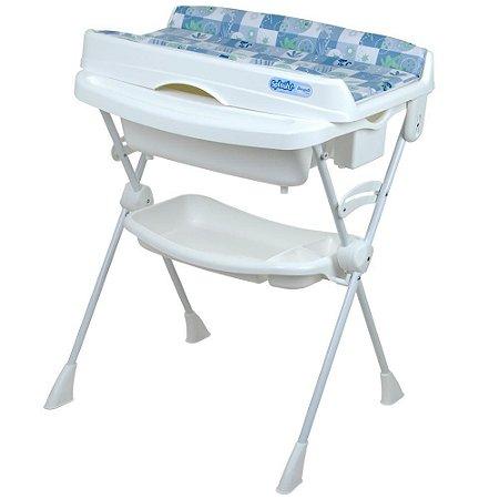 Banheira Splash Peixinhos Azul - Burigotto
