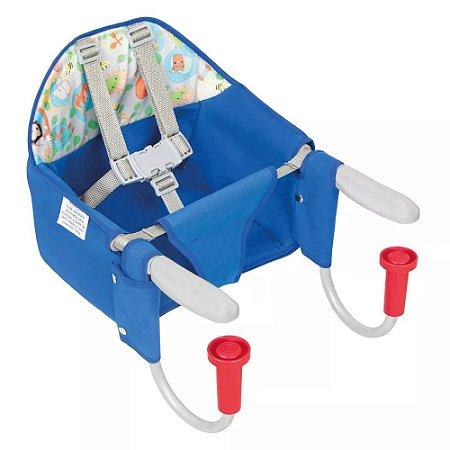 Cadeira Refeição portatil Azul - Tutti Baby