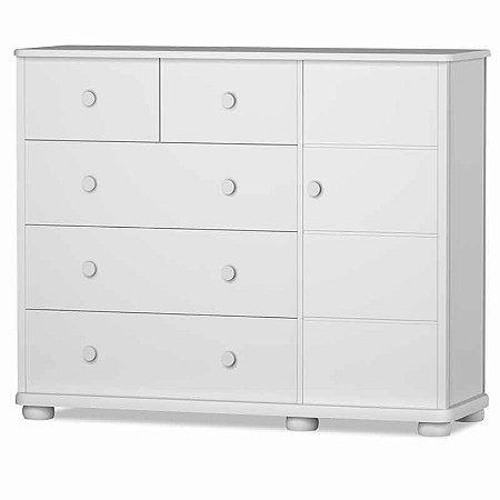 Cômoda Fratelli Plus Branco - Matic Móveis