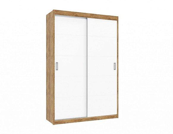 Guarda-Roupas Fratelli New Porta de Correr Branco com Teka - Matic Móveis