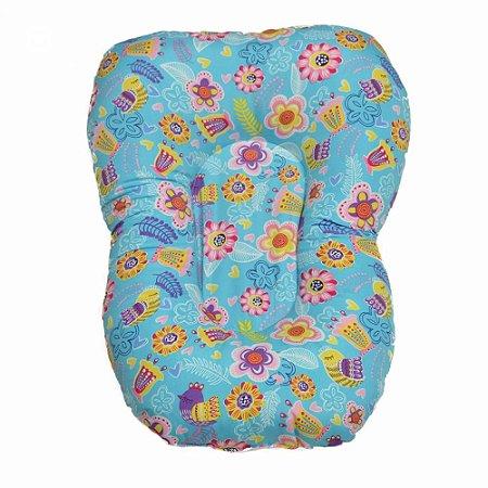Almofada de Banho Flores - Sathler Baby