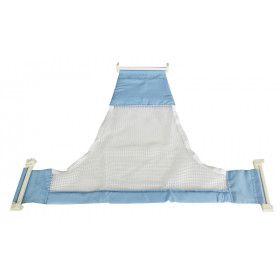 Rede de proteção para banho - azul